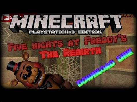 minecraft ps  nights  freddies fnaf horror map