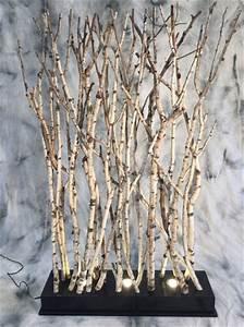 Branche De Bouleau : paravent de branches de bouleaux clair es ~ Melissatoandfro.com Idées de Décoration