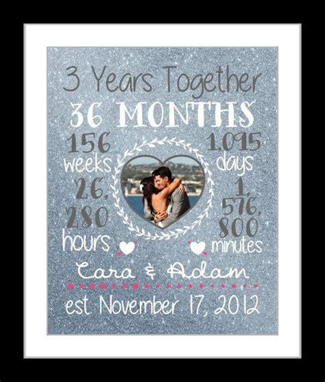 Any Or 3 Year Anniversary Gift, 3 Year Wedding Anniversary