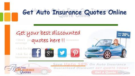 1000+ Free Car Insurance Quotes On Pinterest