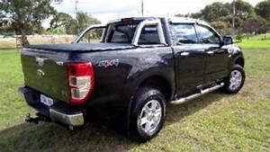 Ford Ranger 2014 : 2014 ford ranger px xlt double cab 4x2 hi rider black 6 speed manual utility youtube ~ Melissatoandfro.com Idées de Décoration