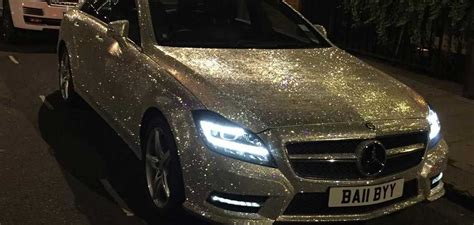 Crystal-encrusted Mercedes-benz Cls 350 For Sale