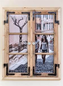 Bilderrahmen Kreativ Gestalten : nachdem ich mir alte holzfenster besorgt habe ging es an ~ Lizthompson.info Haus und Dekorationen