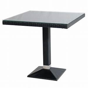 Polyrattan Tisch Rund : tisch verona 70x70cm polyrattan outdoor tische outdoor ingastro online shop ~ Orissabook.com Haus und Dekorationen