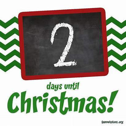 Days Christmas Until Clipart Countdown Merry Before