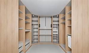 rangement systeme de rangement moderne pour la maison With modele de maison en u 7 dressing
