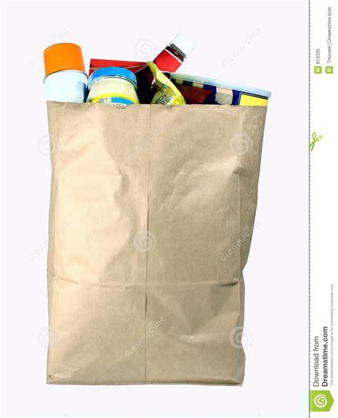 bag  groceries royalty  stock photo image