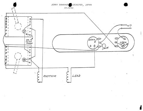 Rotary Switch Wiring Diagram Telecaster by Mij Jerry Donahue Tele With Vlx91 Switch Telecaster