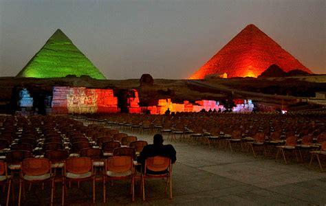 pyramids sound light show 4 hours with transport