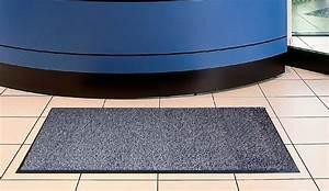 Tapis Intérieur Entrée : tapis entree interieur polypropylene 120 x 180 cm gris ~ Edinachiropracticcenter.com Idées de Décoration