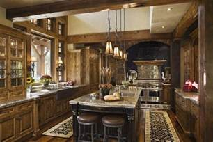 Kitchen And Home Interiors Rustic House Design In Western Style Ontario Residence Digsdigs