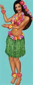 mardi gras party theme jointed hula girl decoration caufields