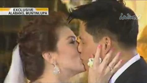 Carmina And Zorens First Kiss As Husband And Wife1