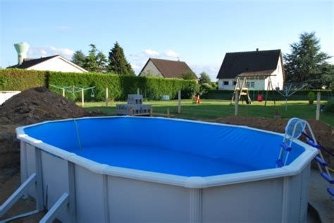 piscine hors sol acier enterree apercu piscine hors sol acier semi enterr 233 e