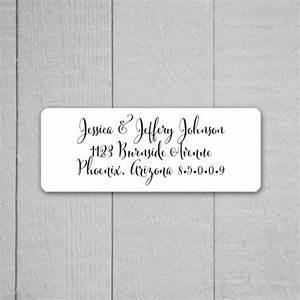 Wedding invitation return address labels wedding stickers for Return address on wedding invitations sample