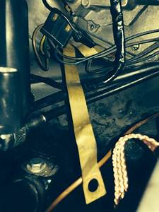 1966 Wiper Motor Ground Strap Connection