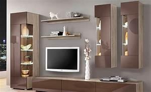 Wohnzimmer Stylisch Einrichten : wohnw nde stylisch und praktisch ~ Markanthonyermac.com Haus und Dekorationen