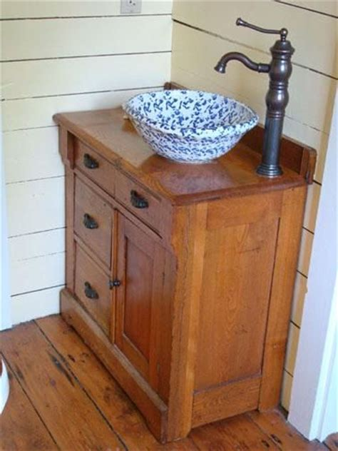 primitive bathroom vanity ideas 25 best ideas about bowl sink on bathroom