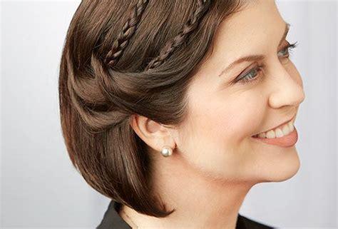 party hairstyles  short hair length rewardme