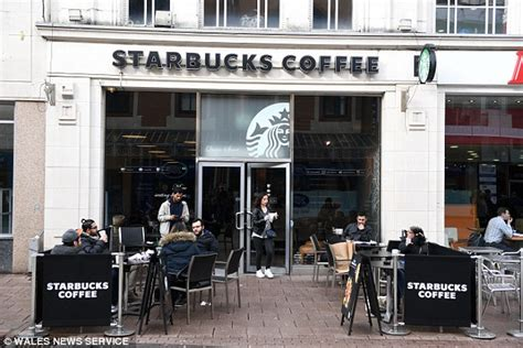 starbucks announces fourth shop  central cardiff daily