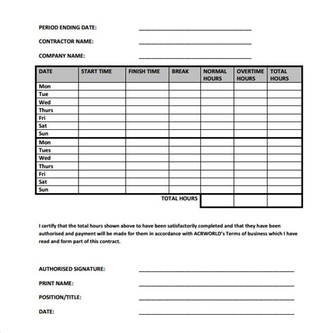 construction time sheet excel template 49 construction time sheets template time sheet template