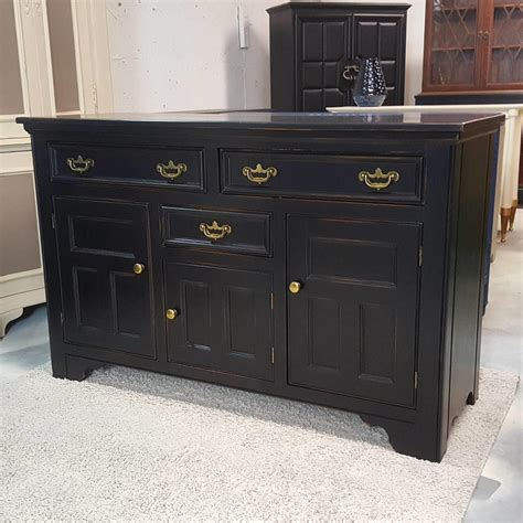 Black Buffet Table Sideboard black buffet table sideboard credenza painted