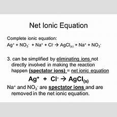 Net Ionic Equation Examples Tessshebaylo