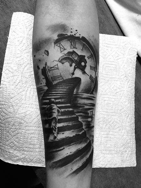 Tatuaje de escalera realizado en nuestro centro de la Vaguada de Madrid. #tattoo #tattoos #