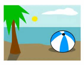 How Draw Cartoon Beach