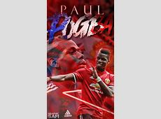 Paul Pogba Phone Wallpaper 20172018 by GraphicSamHD on