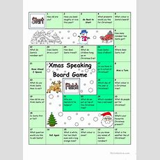 Board Game  Christmas & Santa Worksheet  Free Esl Printable Worksheets Made By Teachers
