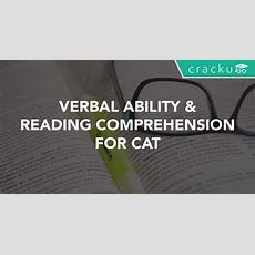 Verbal Ability And Reading Comprehension For Cat Cracku