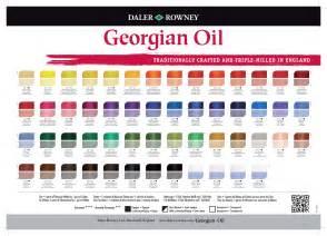georgian color paint color chart blue