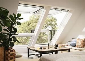 Dachfenster Mit Balkon Austritt : die 25 besten ideen zu dachfenster auf pinterest loft zimmer dachausbau und dachboden ideen ~ Indierocktalk.com Haus und Dekorationen