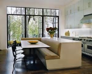 Breakfast Nook Benches by Space Savers Built In Island Banquette The English Room