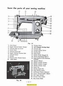Brother 230 Galaxie Sewing Machine Instruction Manual