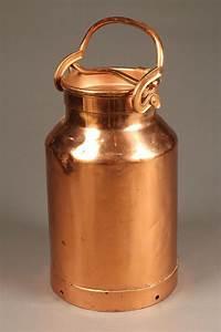 Copper, Milk, Can