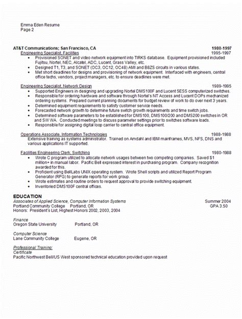 sle database administrator resume best resumes
