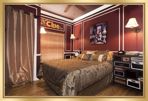 """The """"get A Clue"""" Escape Room Game & Bedroom At The Great"""