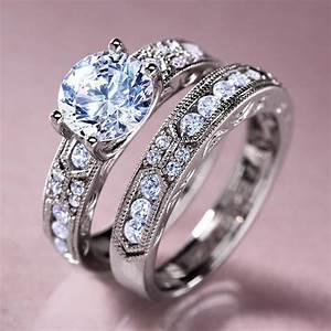 diamondaurar dearly beloved ring w5622 stauercom With stauer wedding rings
