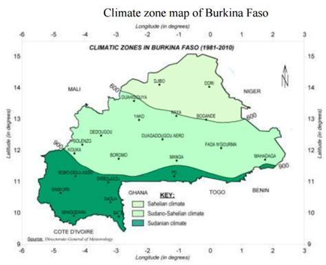 Burkina Faso Karte