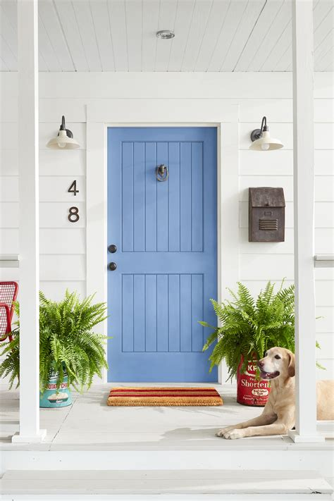 Door Makeover by 5 Colorful Themes For Your Front Door Front Door