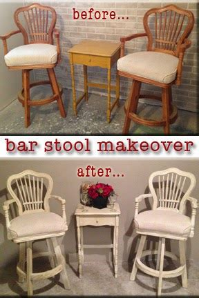 Bar Makeover by Diy Why Spend More Bar Stool Makeover