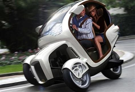 Future Transportation  Icona E3wm  Electric 3 Wheel Mobile