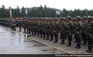 Army Chinese Military Exercises