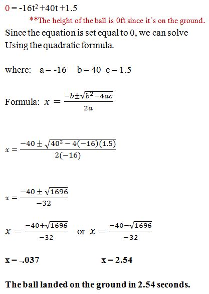 word problems involving quadratic equations