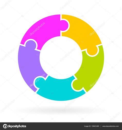 Step By Step Cycle Diagram by 5 Step Cycle Diagram 5 Step Cycle Diagram Stock
