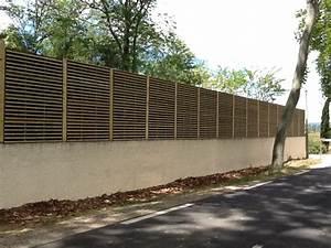 realisation de murs et clotures anti bruit avec cip With mur anti bruit maison 1 mur anti bruit en bois