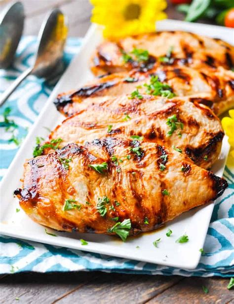 quot no work quot marinated chicken the seasoned
