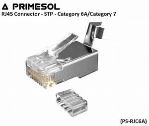 Cable Rj45 Cat 7 : rj45 connector stp category 6a category 7 ps rjc6a ~ Melissatoandfro.com Idées de Décoration